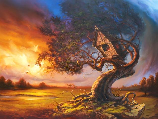 Tree House Brewing Logo Art by Roc Goudreau